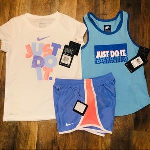 Nike Little Girls 6X Outfit